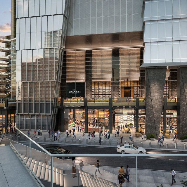 Hudson Yards' Spanish food hall to open spring 2019; Colorful street art arrives at the WTC site