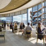 Hudson Yards food hall, Neiman Marcus Hudson Yards, Hudson Yards restaurants, Elkus Manfredi Architects