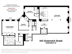443 Greenwich Street, Jennifer Lawrence Tribeca, Jennifer Lawrence apartment, Tribeca celebrities