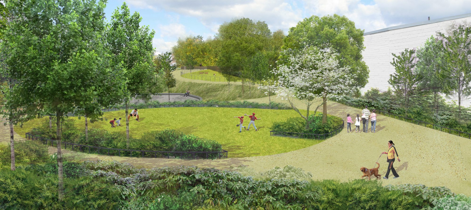 Revealed see new renderings of the queensway elevated for Garden design queens park