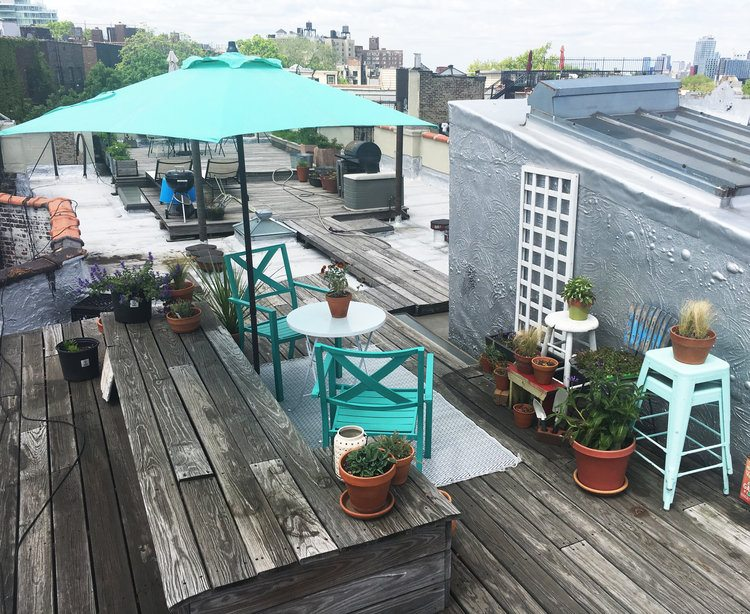 Apartment Building Roof $625k prospect heights apartment with its own roof access is