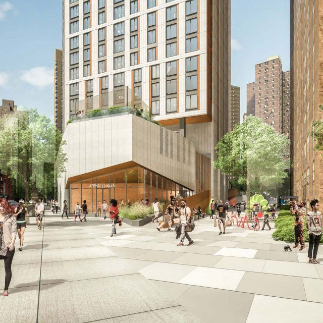 Renderings revealed for controversial mixed-income tower on top of UES playground