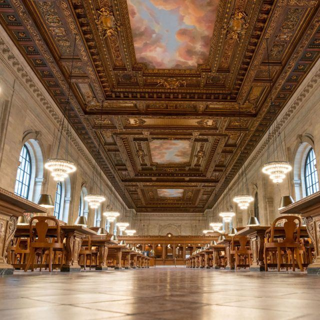 Senators request interior landmark status for two NYPL reading rooms