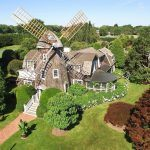 Edward DeRose Windmill Cottage, East Hampton windmill, windmill architecture, Robert Downey Jr.