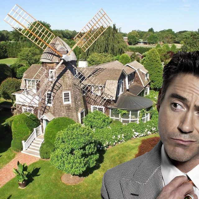 Robert Downey Jr. snags a historic windmill cottage in East Hampton
