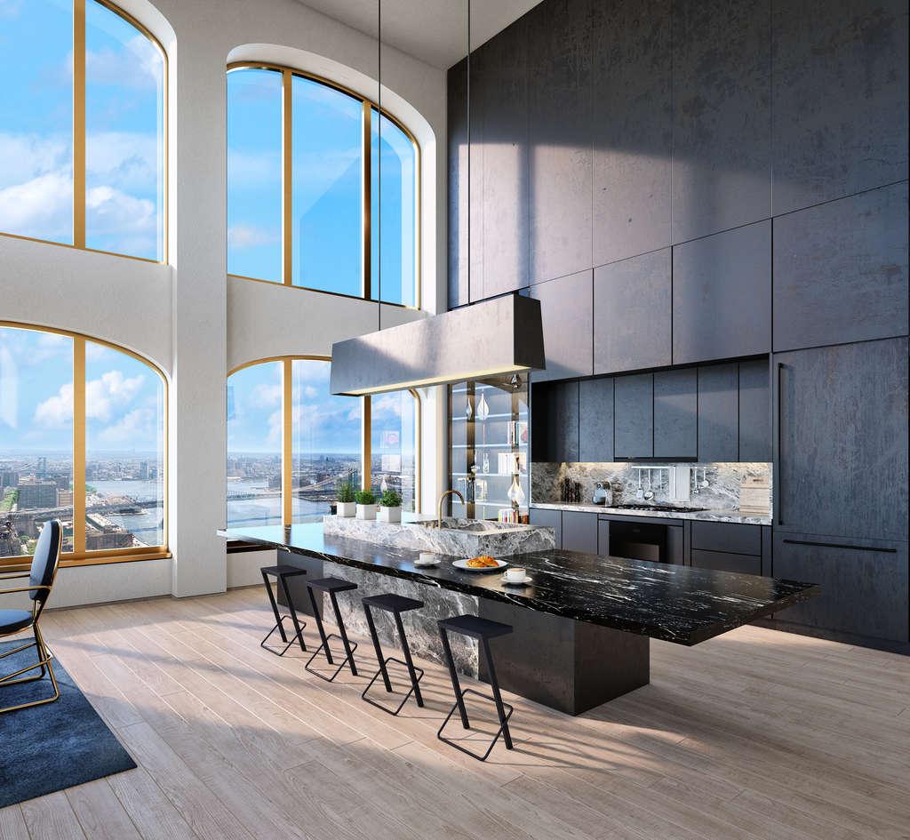 Four Bedroom Apartments Nyc: REVEALED: Early Studies Of David Adjaye's Wall Street