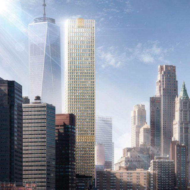 REVEALED: David Adjaye's Wall Street Tower, his first skyscraper in NYC