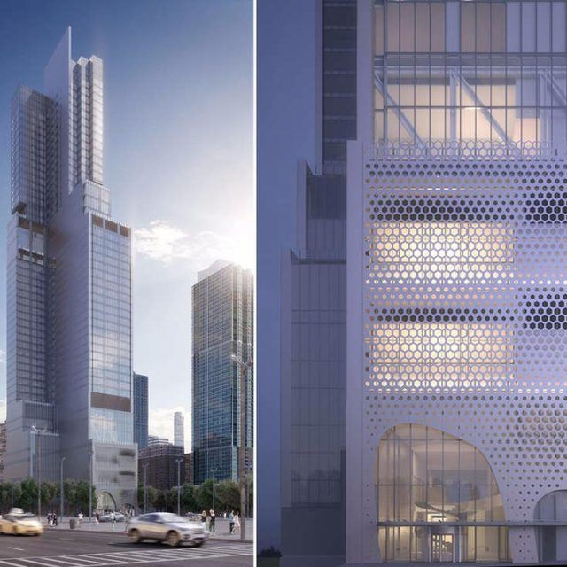 First look at CetraRuddy's proposed hotel-apartment tower for Hudson Yards