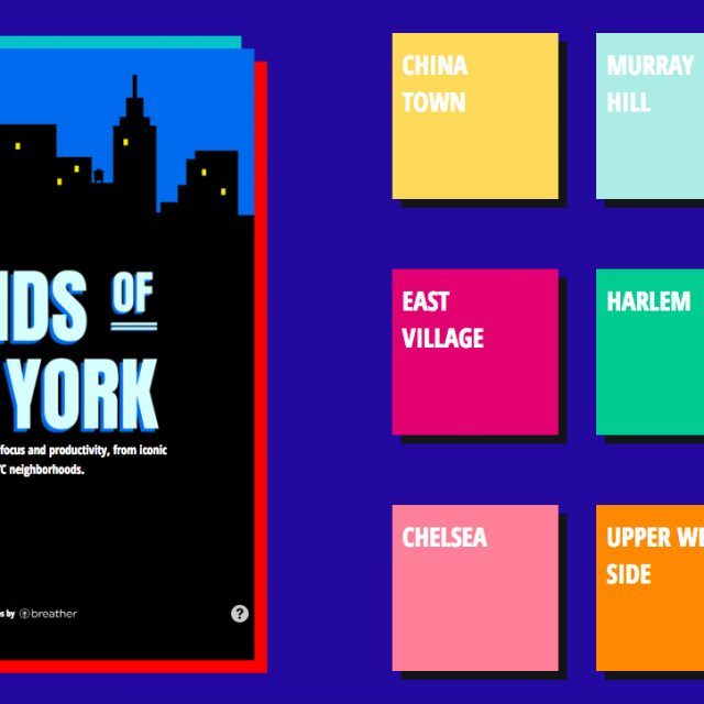 'Sounds of New York' uses city noise to improve your focus