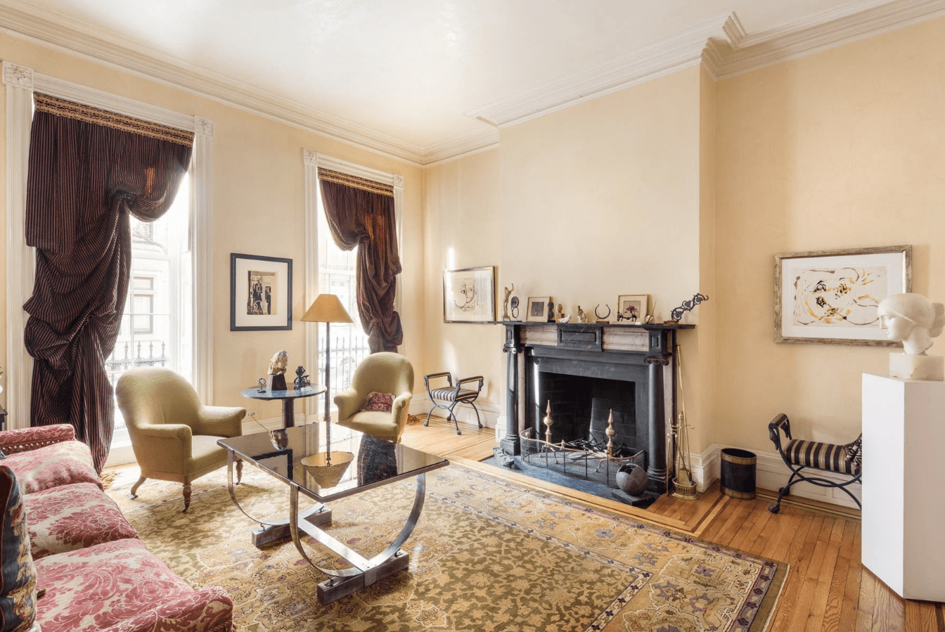 beautifully preserved 1827 west village federal row house asks
