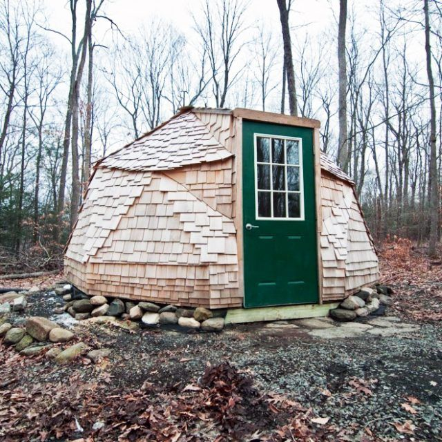 Here's your chance to vacation inside a geodesic dome in the woods for just $46/night