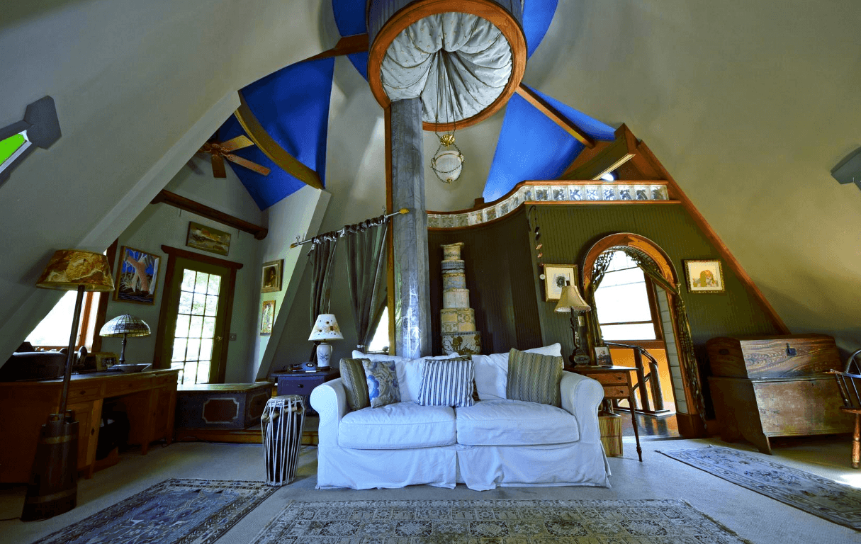 Asking 1 2m Muppet Set Designer S Catskills Tower House Is A