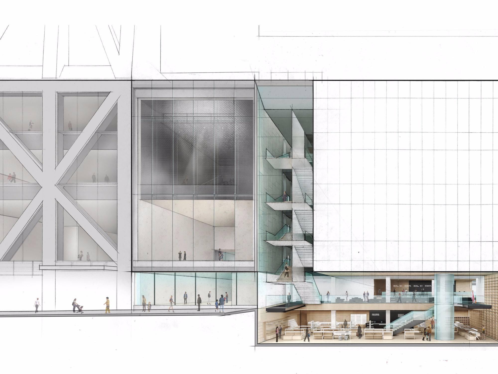 Moma Reveals Final Design For 400m Expansion 6sqft