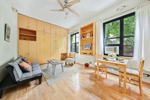 22 irving place, cool listings, Gramercy, studio, studios, built ins, tiny apartment, small spaces, co-ops