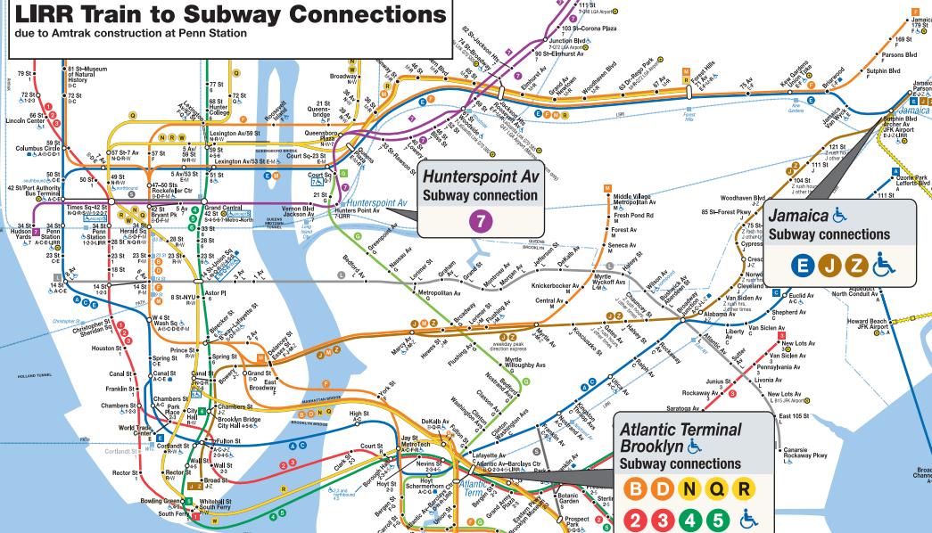 MTA, Penn Station repairs, LIRR