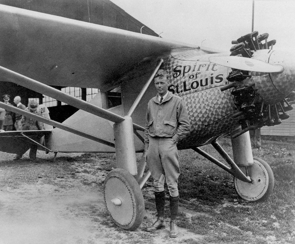 Charles Lindbergh, Spirit of St. Louis, NYC history