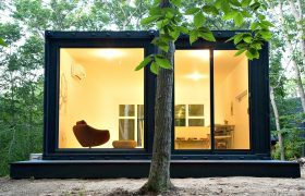 MB Architecture, Container Studio, shipping container design, Hamptons art studio