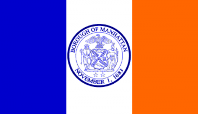 Manhattan Flag, Borough Flags, Flag Day