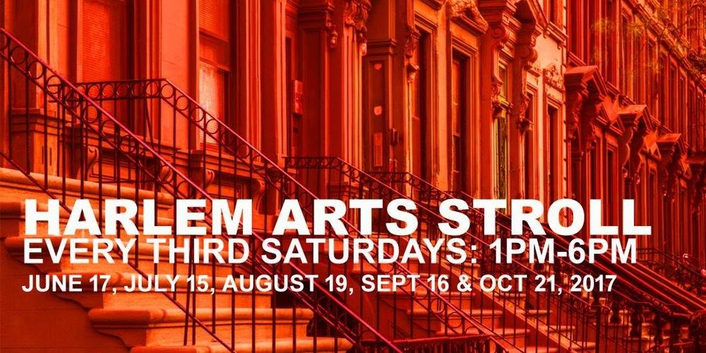 Harlem Arts Stroll, Harlem events, art walks NYC