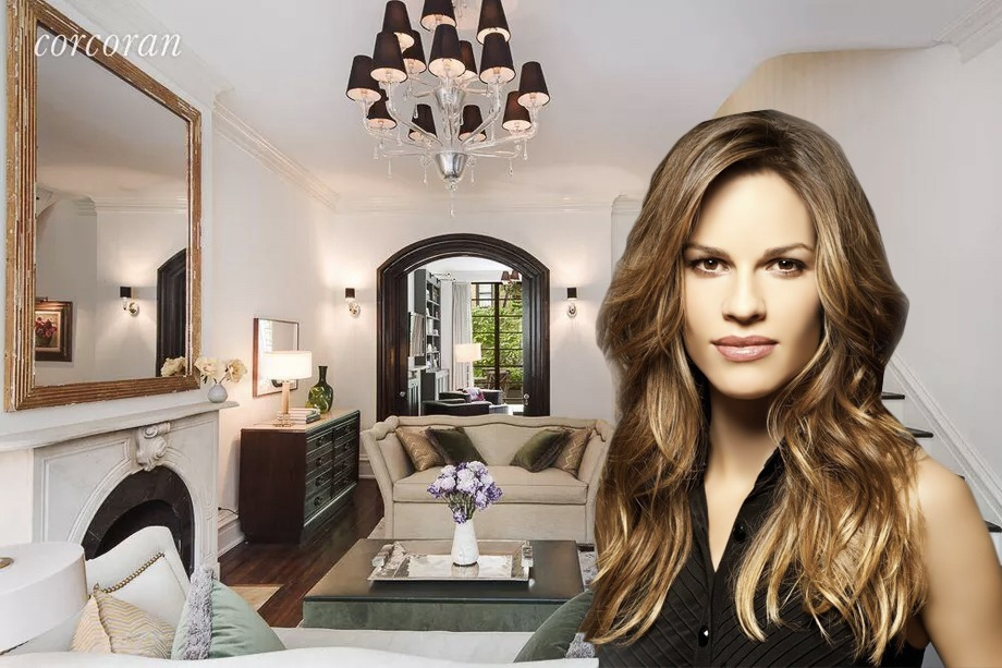 Macy's executive pays $10.5M for Hilary Swank's former West Village townhouse