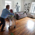 Brian Thompson Tudor City Studio Apartment, tudor city studio, tudor city apartments, tudor city living, brian thompson nyc, tiny apartments, micro living, micro apartments nyc
