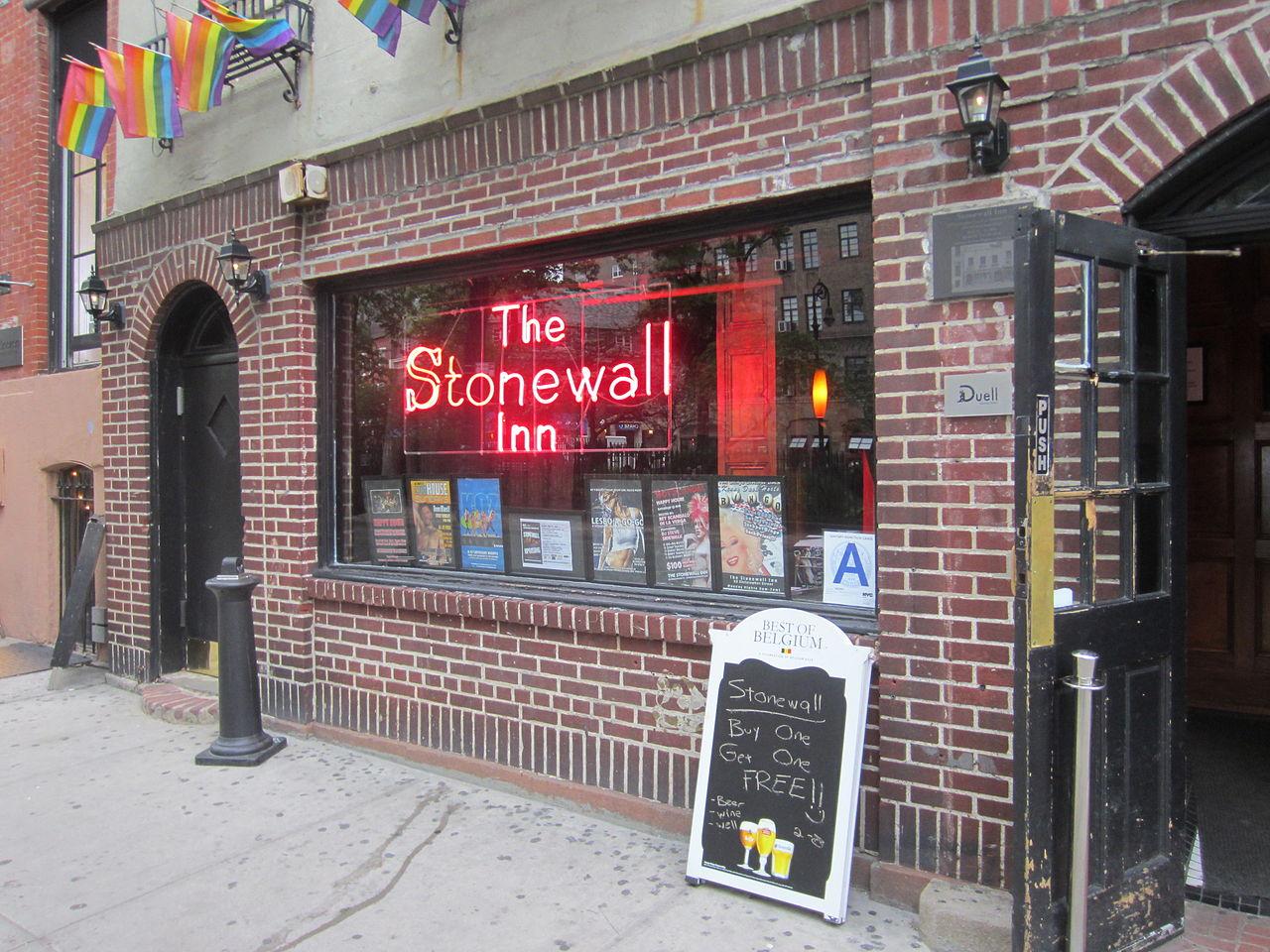 Stonewall Inn, LGBTQ, historic monuments