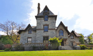 76 North Broadway Irvington, Irvington NY real estate, Strawberry Hill Manor, Westchester haunted house, Gothic revival mansion