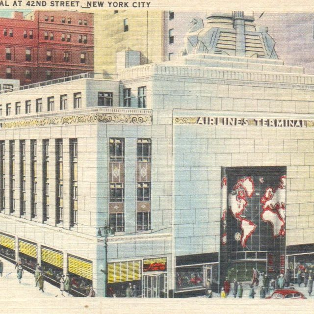 The history behind 42nd Street's lost Airlines Terminal Building