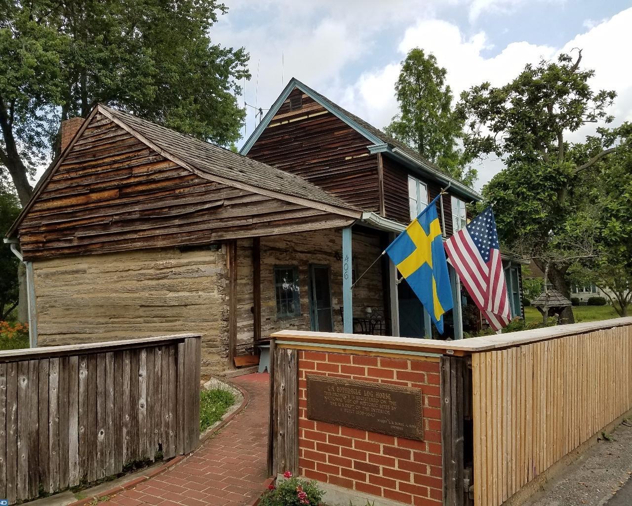 Own america 39 s oldest surviving log cabin for 2 9 million for Cabin getaways in nj