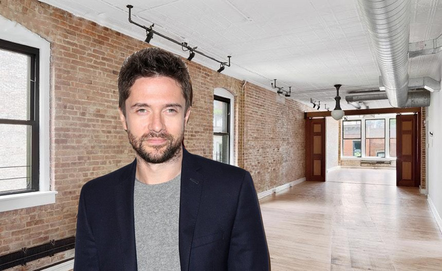 Topher Grace's West Village pied-à-terre hits the market for $4.25M