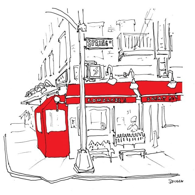 The Urban Lens: Artist and food writer John Donohue is drawing every restaurant in NYC