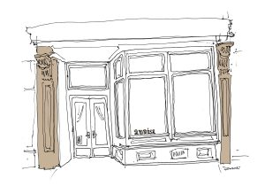 Anissa NYC, All the Restaurants in New York, John Donohue, NYC restaurant drawings