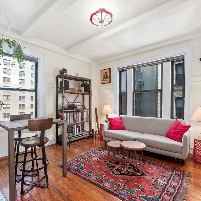 $3,300/month prewar co-op is just one block from Columbia University