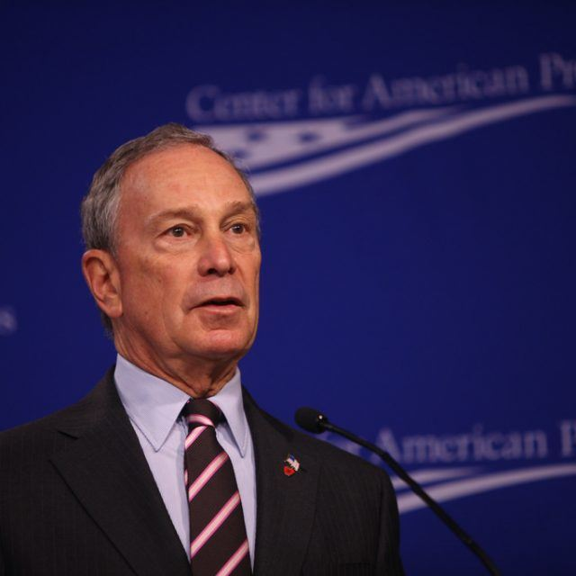 To work around Trump, Michael Bloomberg launches $200M initiative for U.S. cities