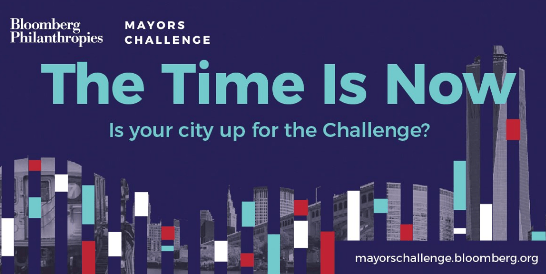 michael bloomberg, mayors challenge, american cities initiative
