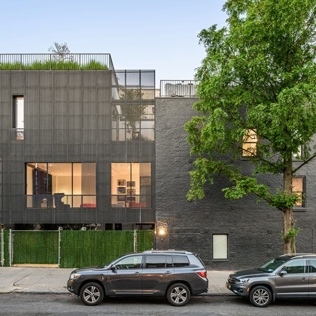 Young Projects upended the traditional Brooklyn townhouse design for this Williamsburg renovation