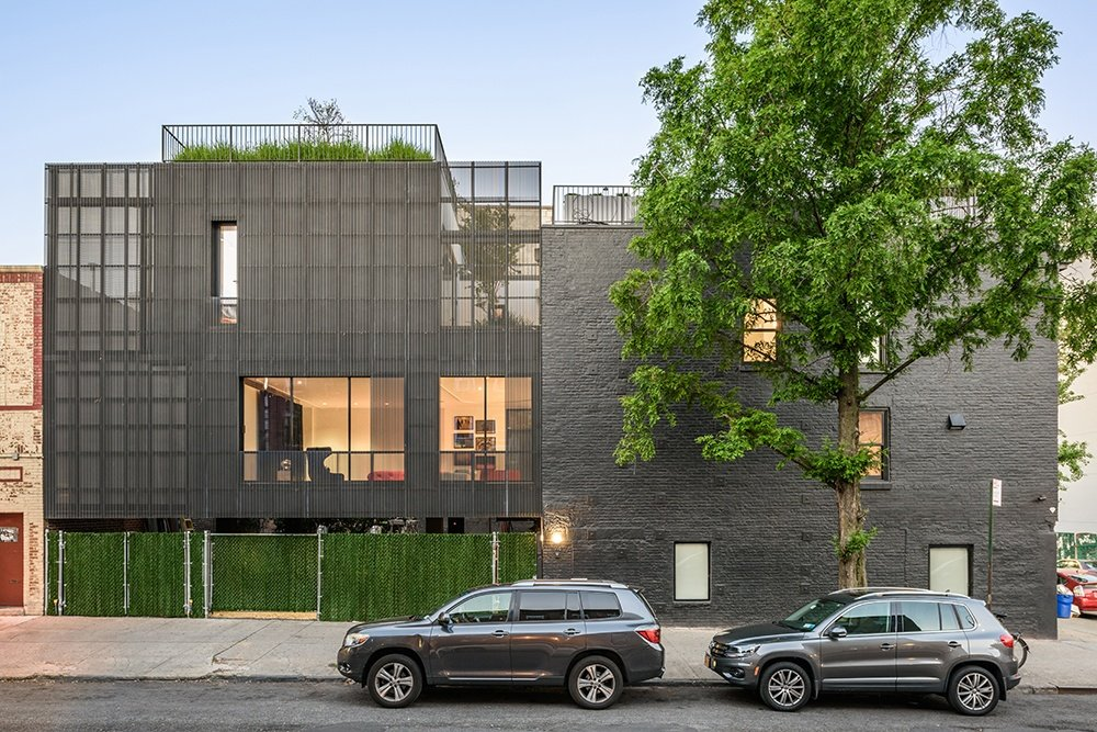 Young projects upended the traditional brooklyn townhouse for Williamsburg architecture and design open house