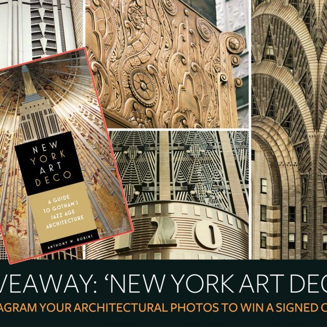 GIVEAWAY: Instagram your architectural photos to win a signed copy of 'New York Art Deco'