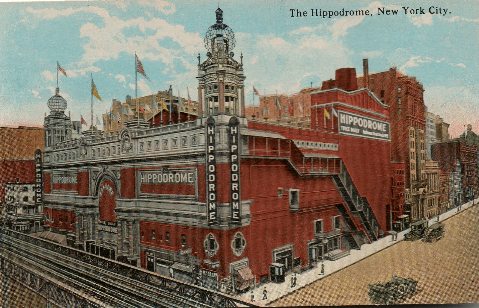 hippodrome, smelly kelly, nyc history