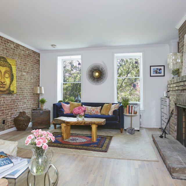 $1M Upper West Side townhouse duplex has a terrace and a fireplace for all-season character