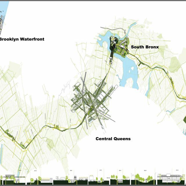 17-stop outer borough light rail proposed as a NYC subway alternative