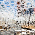 Jenny Sabin, Lumen, MoMA PS1, Young Architects Program
