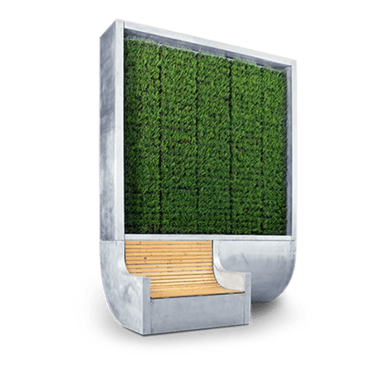 Green City Solutions, CityTree, Air Purifiying