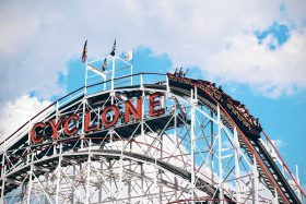 coney island cyclone, world's first rollercoaster
