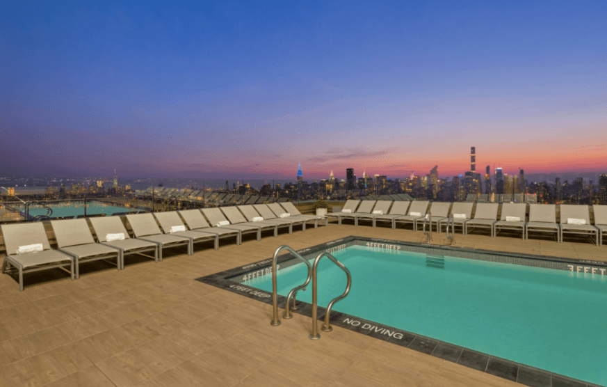 New Photos Of Long Island City S 1 Qps Tower Show Off Nyc S Highest Rooftop Pool 6sqft