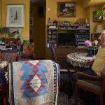 Leonard Shaver, studio penthouse, Union Square apartment, Moroccan rugs