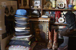 Leonard Shaver, studio penthouse, Union Square apartment, Moroccan rugs