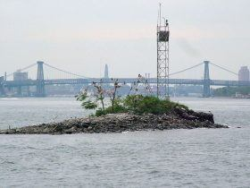 U Thant Island, Manhattan Islands, small islands nyc