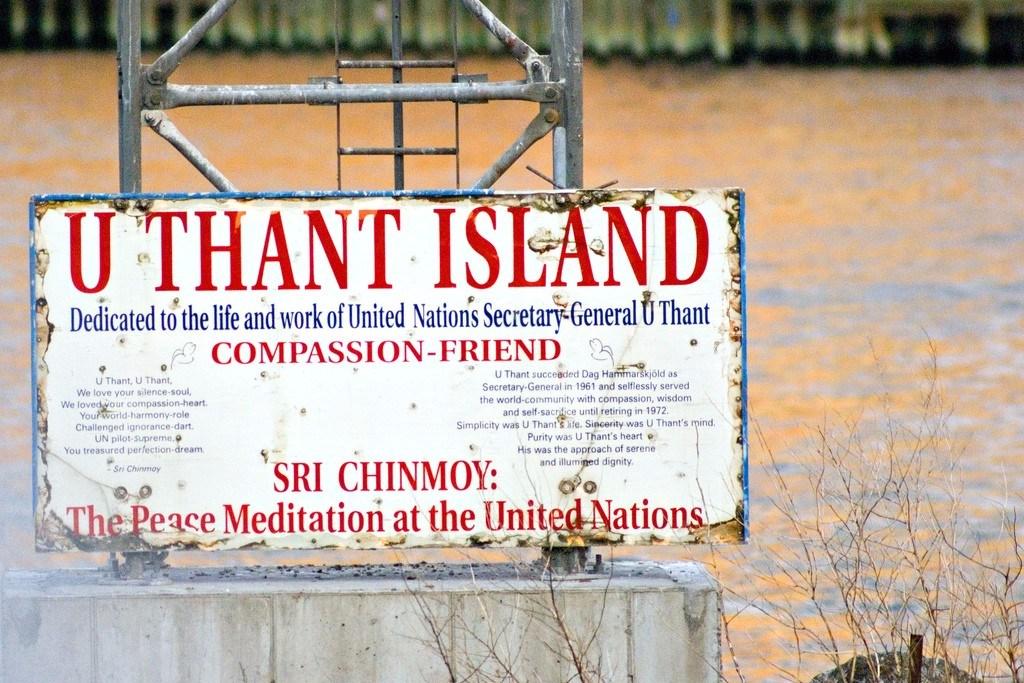 U Thant, Nazioni Unite, Isole di Manhattan