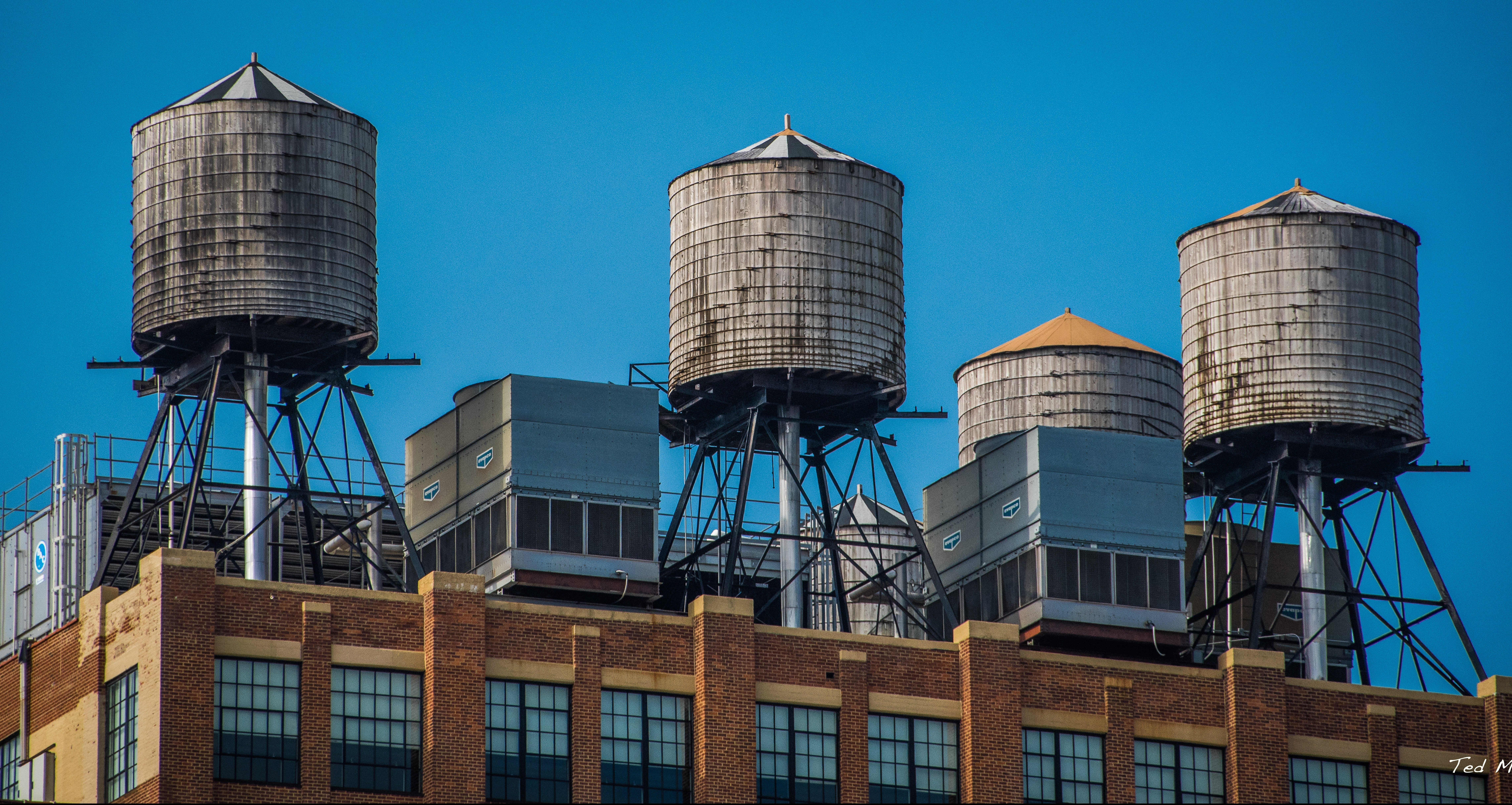 NYC water towers: History, use, and infrastructure | 6sqft
